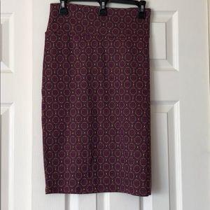 LuLaRoe Cassie Geometric Pencil  Skirt - XL NWT